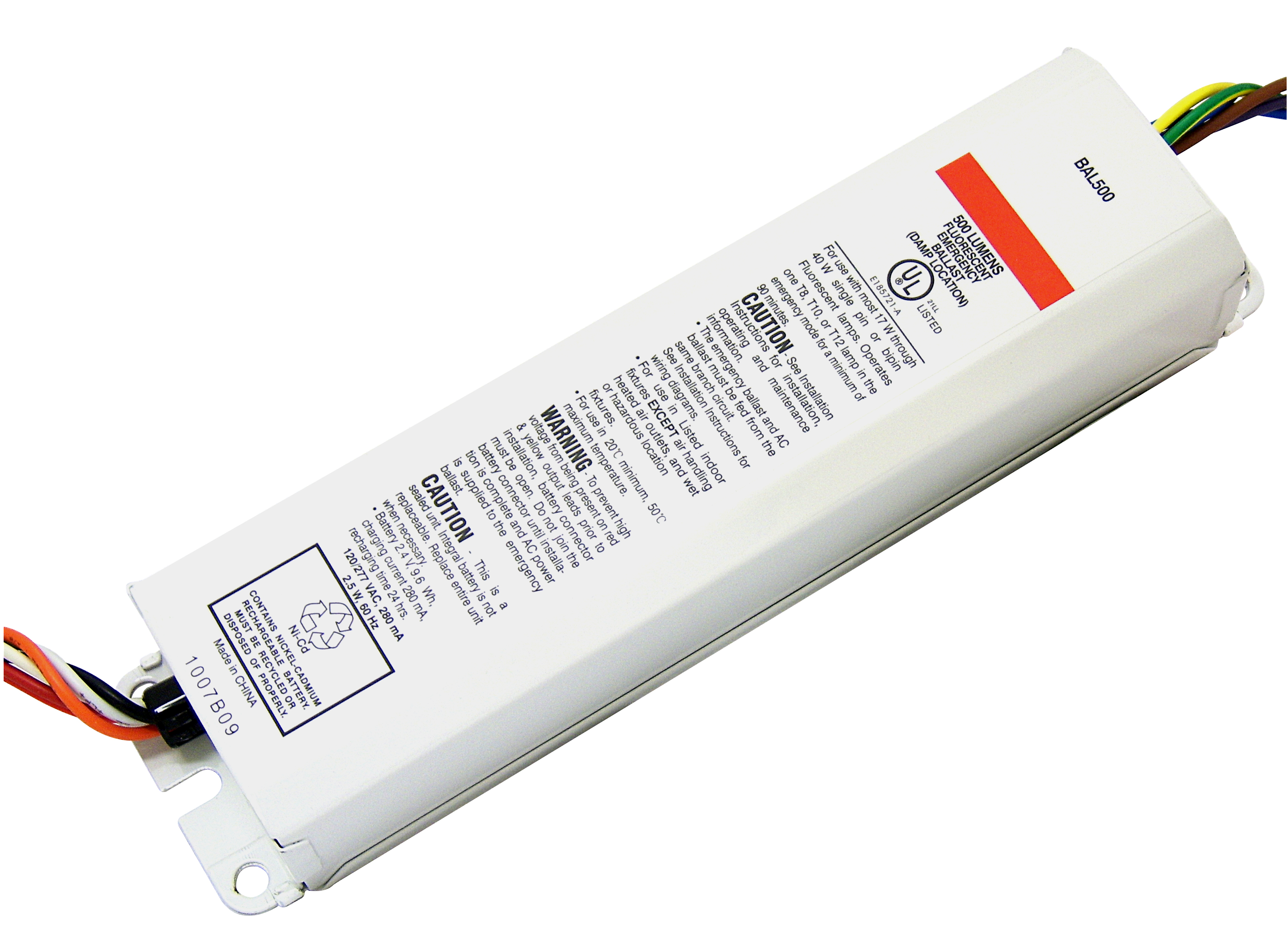 BAL500 bal500, emergency ballasts, bal500, best lighting products  at bakdesigns.co